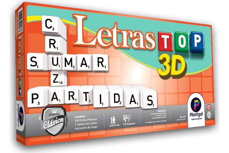 Letras TOP 3D- Premium