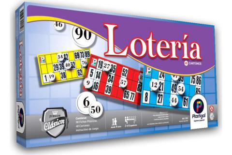 Lotería 48 cartones